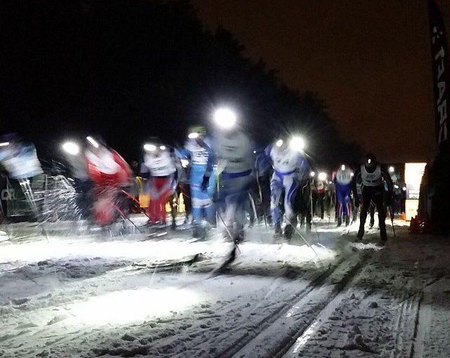 Ночная лыжная гонка «Самопреодоление»